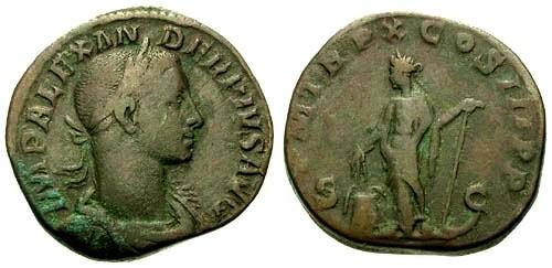 Ancient Coins - gF+/gF+ Severus Alexander AE Sestertius / Annona
