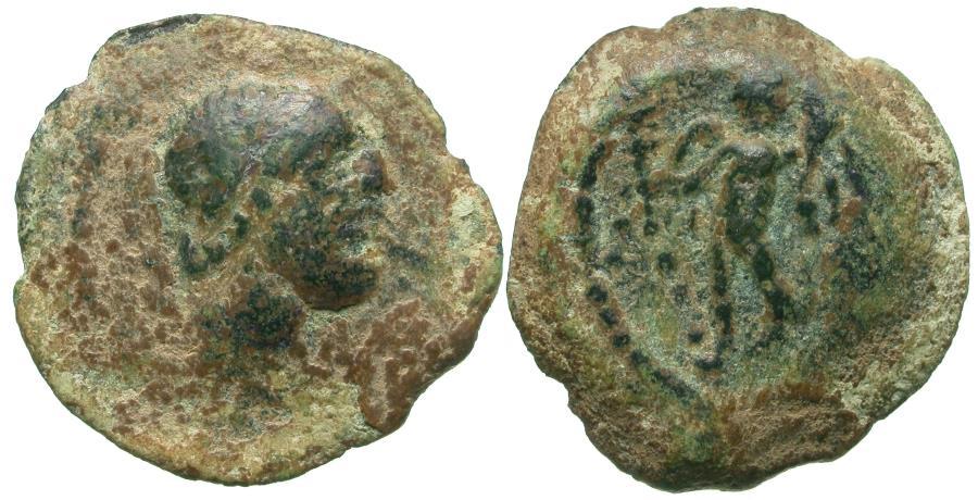 Ancient Coins - Spain. Iberia. Corduba Æ Quadrans / Eros