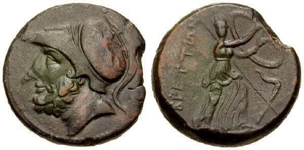 Ancient Coins - VF/aVF Italy Bruttium The Bretti Æ25