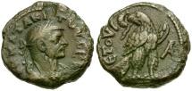 Ancient Coins - Tacitus. Egypt. Alexandria Æ Tetradrachm / Eagle