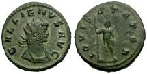 Ancient Coins - Gallienus Æ Antoninianus / Jupiter