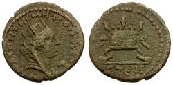 Ancient Coins - Seleucis and Pieria. Antiochia ad Orontem Pseudo-Autonomous Issue Æ18 / Altar