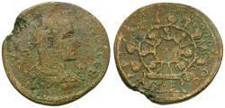 Ancient Coins - Gordian III (AD 238-244) Cilicia. Tarsus Æ37 / Cilicarch crowns