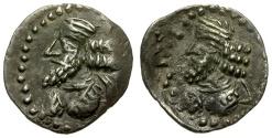 Ancient Coins - Kingdom of Persis. Pakur (Pakor) I AR Obol