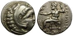 Ancient Coins - Kings of Macedon. Alexander III the Great AR Drachm