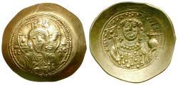 Ancient Coins - *Sear 1868* Byzantine Empire. Michael VII Ducas AV Scyphate Histamenon