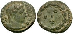 Ancient Coins - Constantine I the Great, as Caesar (AD 306-309) Æ Quarter Follis / Votive