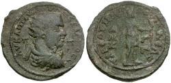 Ancient Coins - Valerian/Gallienus. Cilicia. Tarsos. Muled Æ33 / obverse of Valerian and reverse of Gallienus