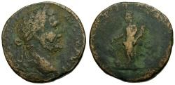 Ancient Coins - Septimius Severus Æ Sestertius / Fortuna