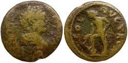 Ancient Coins - Commodus. Troas. Alexandria Æ25 / Apollo