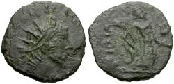 Ancient Coins - Barbarous Radiate - Tetricus I (AD 271-274) Æ3 / Victory