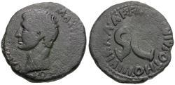 Ancient Coins - Augustus (27 BC-AD 14). M. Salvius Otho, moneyer Æ AS
