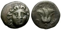 Ancient Coins - Islands off Caria. Rhodos AR Drachm / Rose