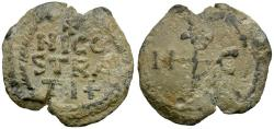Ancient Coins - Italy. Norman Sicily Lead Seal