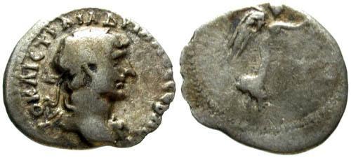 Ancient Coins - F/VG+ Hadrian AR Hemidrachm / Victory