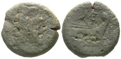 Ancient Coins - F/F Roman Republic AS / ME