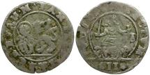 World Coins - Italian States. Venice. Anonymous Issue AR 2 Grossetto / Winged Lion of St. Mark
