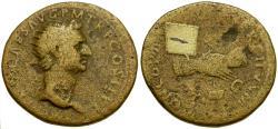 Ancient Coins - Nerva Æ Dupondius / Clasped Hands