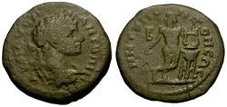 Ancient Coins - gF+/gF+ Caracalla, Moesia Inferior, Tomis Æ21 / Apollo