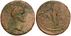 Ancient Coins - Nerva Æ AS / Fortuna