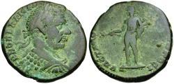 Ancient Coins - Macrinus (AD 217-218). Moesia Inferior. Nikopolis ad Istrum Æ25 / Apollo