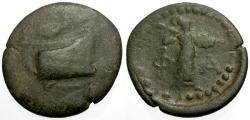 Ancient Coins - gF/gF+ Lycia, Phaselis Æ21 / Prow / Athena