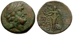 Ancient Coins - Islands off Cilicia. Elaiussa Sebaste Æ22 / Nike