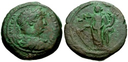 Ancient Coins - Hadrian, Egypt Alexandria Æ Diobol / Tyche