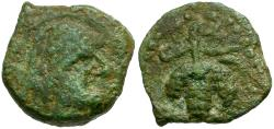 Ancient Coins - Mauretania. Lixus Æ14 / Chusor-Ptah