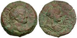 Ancient Coins - Vespasian. Egypt. Alexandria Æ Diobol / Isis