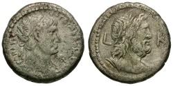 Ancient Coins - Trajan. Egypt. Alexandria AR Tetradrachm / Zeus