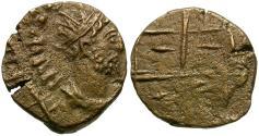 Ancient Coins - Tetricus II. Imitative Radiate Æ12