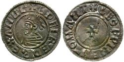 World Coins - England. Anglo-Saxon Kings of All England. Aethelred II (AD 978-1016) AR Penny / Cross Pattee
