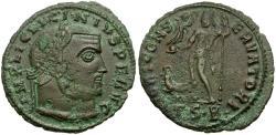 Ancient Coins - Licinius I (AD 308-324) Æ Follis / Jupiter