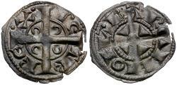 World Coins - Spain. Catalonia-Aragon. Pedro II King of Aragon AR Obol