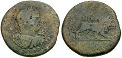 Ancient Coins - Caracalla. Cilicia. Tarsos Æ32 / Lion