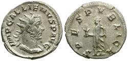 Ancient Coins - Gallienus, joint regin (AD 253-260) AR antoninianus / Spes