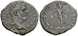 Ancient Coins - Septimius Severus (AD 193-211) AR Denarius / Mars