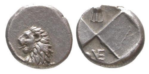 Ancient Coins - VF/VF Chersonese Hemidrachm / Lion and Amphora