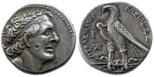 Ancient Coins - VF/VF Ptolemaic Egypt Ptolemy I AR Tetradrachm / Eagle