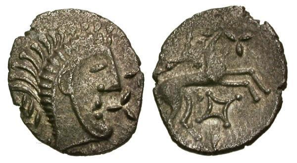 Ancient Coins - EF/EF Celtic Tribes of Britain, Iceni AR unit, struck under Boudicca