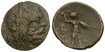 Ancient Coins - Kings of Macedon.  Philip V Æ17 / Athena