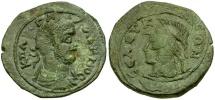 Ancient Coins - Gallienus. Cilicia. Seleucia ad Kalykadnon Æ26 / Athena