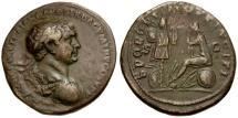 Ancient Coins - Trajan Æ AS / Dacia