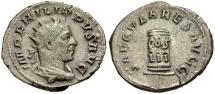 Ancient Coins - Philip I AR Antoninianus / Cippus
