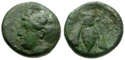 Ancient Coins - Ephesos. Ionia Æ10 / Bee