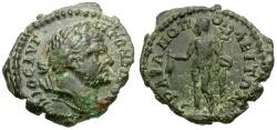 Ancient Coins - Caracalla.  Thrace. Trajanopolis Æ18 / Hermes