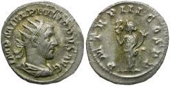 Ancient Coins - Philip I (AD 244-249) AR Antoninianus / Felicitas