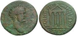 Ancient Coins - Septimius Severus (AD 193-211). Pontus. Neocaesarea Æ29 / Temple