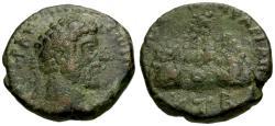 Ancient Coins - VF/aVF Marcus Aurelius, Cappadocia Caesarea Æ21 / Mt. Argaeus